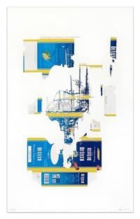 blue giardini by sarah sze