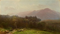 in the catskills by homer dodge martin