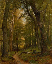 the old hunting ground by worthington whittredge