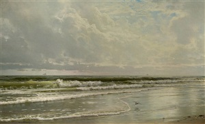 rockaway beach by william trost richards