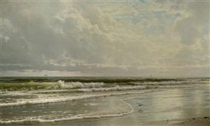 rockaway beach by william trost richards