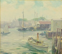 marblehead, massachusetts by louis charles vogt