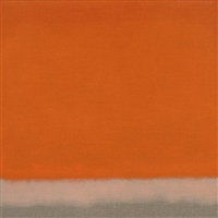 untitled (red orange) by susan vecsey