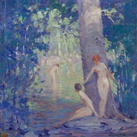 nymphs by emile albert gruppe