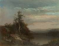 evening solace by homer dodge martin