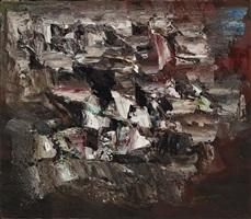 untitled 1952 by paul emile borduas