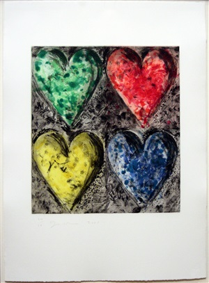 watercolor in galilee by jim dine