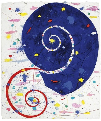 ammonite by sam francis