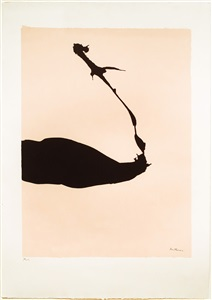 africa suite: africa 6 by robert motherwell