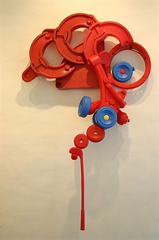 red plastic form by tyrome tripoli