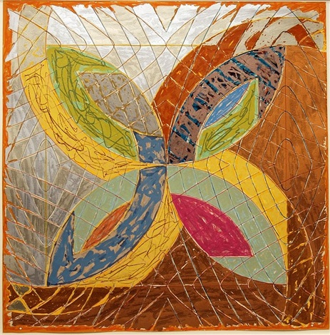 polar co-ordinates iii (ctp)1980 by frank stella