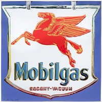 mobil, from ads by andy warhol