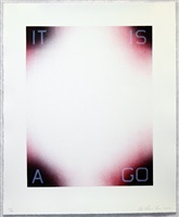 it is a go by ed ruscha
