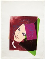 isabelle adjani by andy warhol