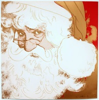 santa claus, from myths by andy warhol