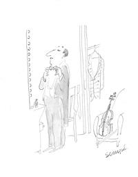 hector duprez, violoniste by jean-jacques sempé