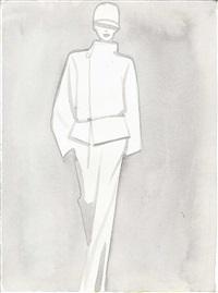 hermès white by mats gustafson