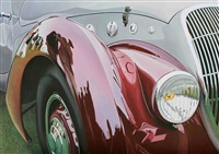red and grey delahaye by cheryl kelley