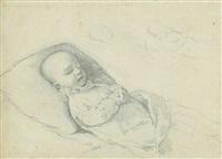 lukas müller auf dem totenbett by gabriel von max