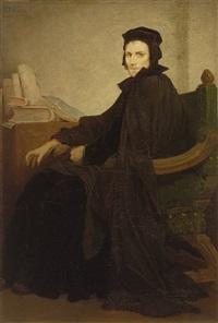 mephisto in fausts kleidern by gabriel von max