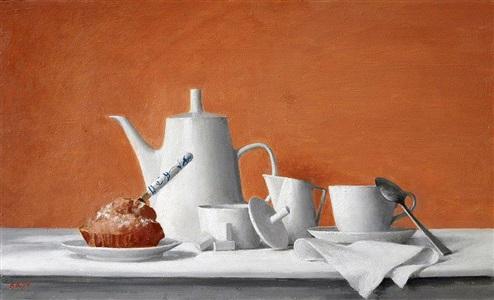 breakfast by aaron shikler