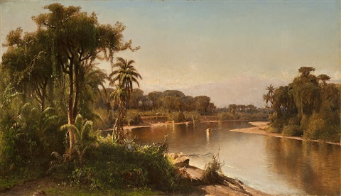 south american landscape by henry a. ferguson