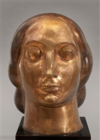 head of a woman by gaston lachaise