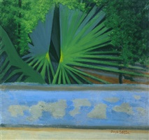 green palms by joseph stella
