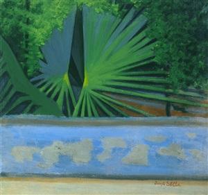 green palms by joseph stella