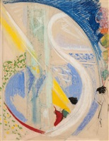 abstraction by joseph stella