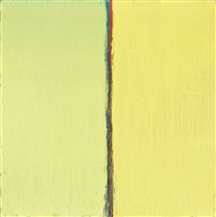 yellow and yellow by pat steir