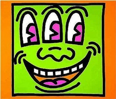 icon 5 by keith haring