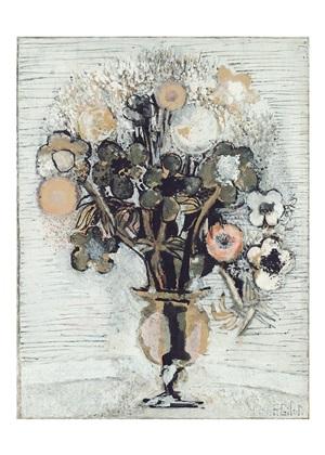 bouquet des fleurs by françoise gilot