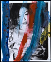from the series painting by nobuyoshi araki