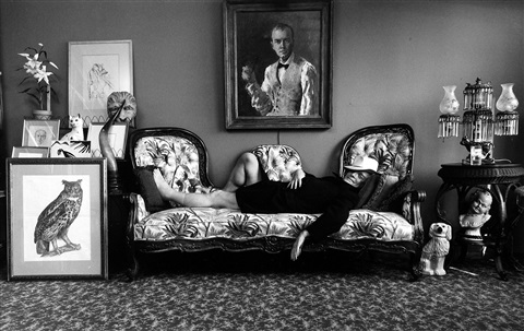 truman capote, nyc by arnold newman