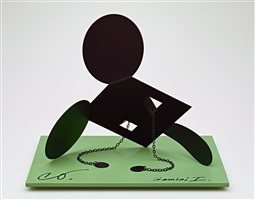 geometric mouse, scale e, 'desktop' by claes oldenburg