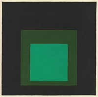 hommage to a square - chrysoprase by josef albers