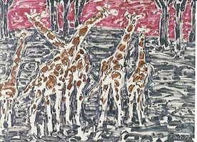 giraffes by stephen s. pace