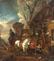 cavalo branco by philips wouwerman