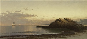 new england coast by alfred thompson bricher