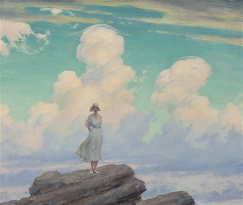 the veiled cloud by charles courtney curran