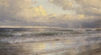 on the jersey shore by william trost richards