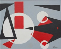 untitled abstract by charles green shaw
