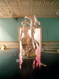 statue from awakened by david lachapelle