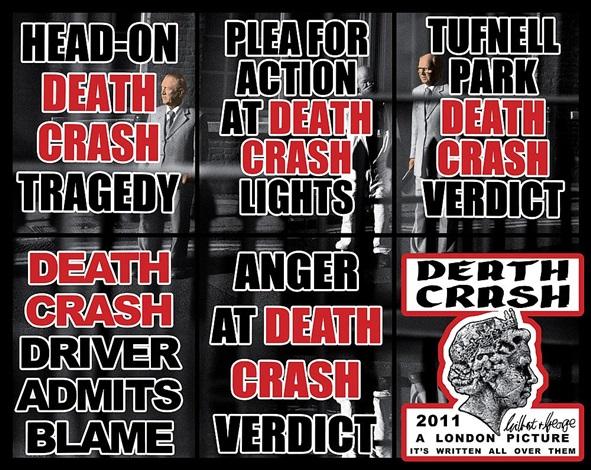 death crash by gilbert & george