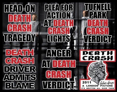death crash by gilbert and george
