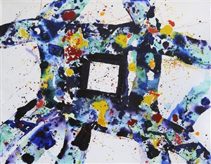 facing within by sam francis