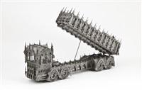 dump truck (scale model 1/6) by wim delvoye