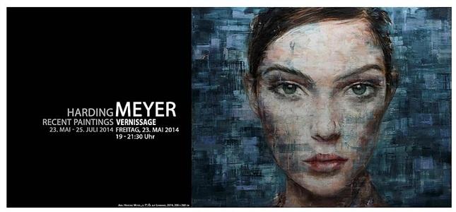 invitation - harding meyer: recent paintings