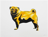 pug 14 yellow (cmyk) by xoooox